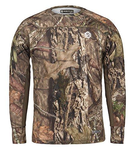 ScentLok Mens Nexus Active Weight Hunting Shirt Mossy Oak Break-Up Country M