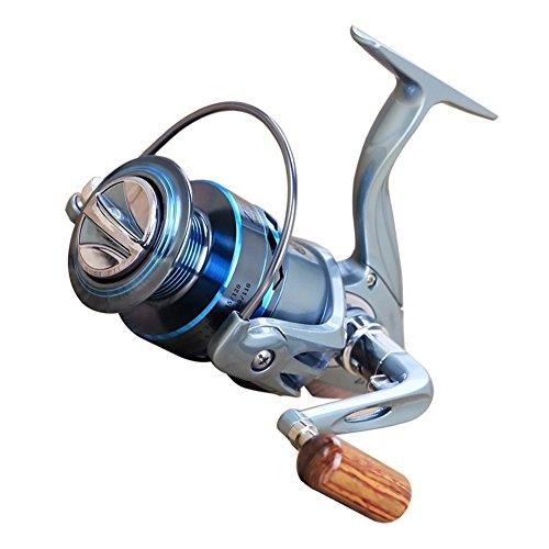 Qjoy ZF2000-7000 Sturdy Metal Rocker Fishing Vessel Fishing Reel Spinning Flywheel Rockies Pole Wheel
