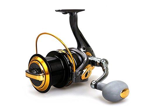 new TF8000 13 axis Fishing vessels All metal CNC rocker arm High strength plastic spinning reels