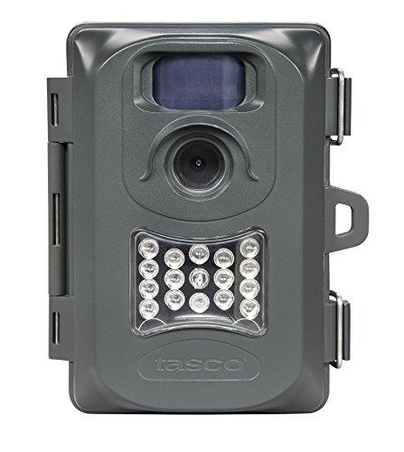 Tasco 119234 2-4 MP 15 Low-Glow Black LED Wildlife Trail Camera