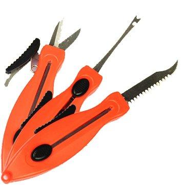 ZANLURE Multifunctional Scissors Fishing Line Scissors Removing The Hook Tool Fishing Accessories