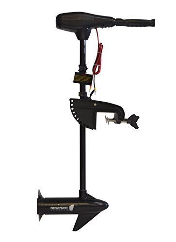 Newport Vessels NV-Series 36 lb Thrust Saltwater Transom Mounted Electric Trolling Motor with 30 Shaft