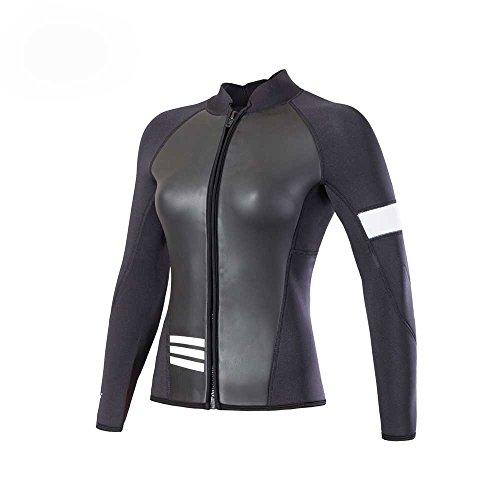 Divecica Long Sleeve Jacket Neoprene Wetsuit Top For Women M