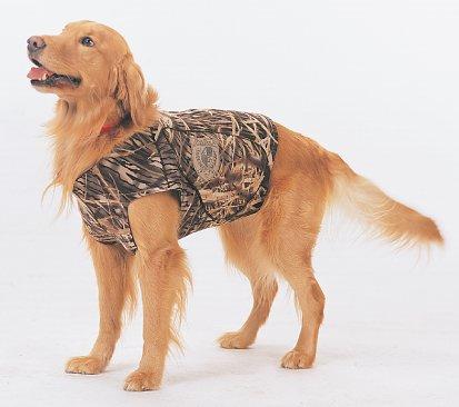 Kobuk 5mm Neoprene Hunting Dog Vest Jacket Mossy Oak Shadow Grass Size Large