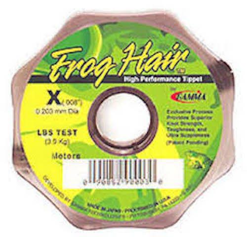 Frog Hair 0x Tippet Spool