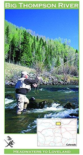 Big Thompson River 11x17 Fly Fishing Map
