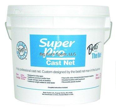 Betts 20-7 Super Pro Mono Cast Net