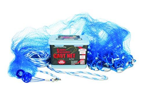FITEC 10257 Super Spreader Blue Mono Cast Net 538