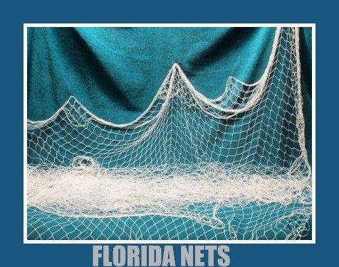 TWO 6 X 9 Fishing Net Netting Nautical Display Wedding Decor