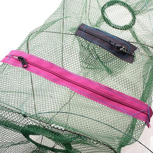 Crab Fish Crawdad Shrimp Minnow Fishing Bait Trap Cast Dip Net Cage