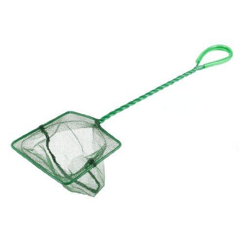 Dimart Green Twisted Grip Nylon Fishing Dip Net 4 x 35 for Aquarium Fishbowl