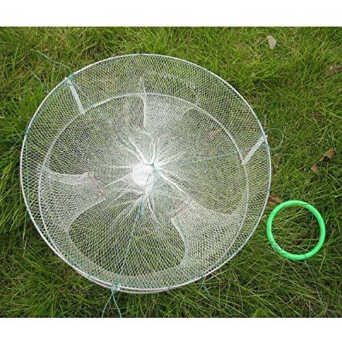 SUIE Foldable Fishing Bait Trap Dip Net Cage for catch Crab Fish Minnow Crawdad Shrimp