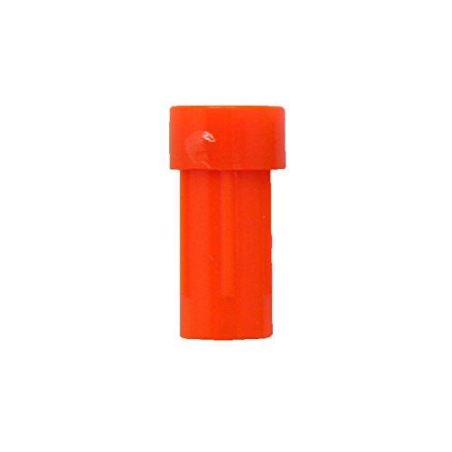 SAS Crossbow Nock Flat End - Dozen 12Pack - Made In USA 303 Neon Orange
