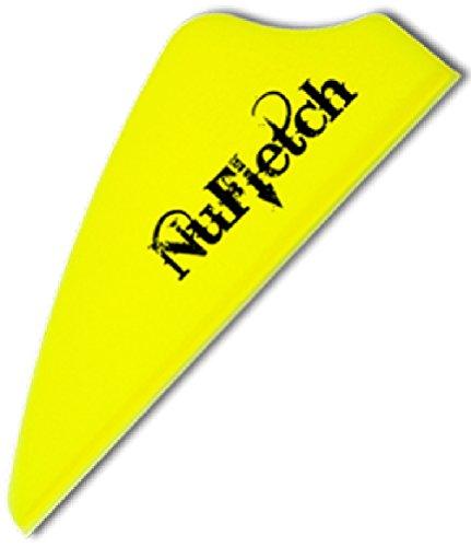 36-Pk NuFletch 17 inch Fusion Vanes Yellow