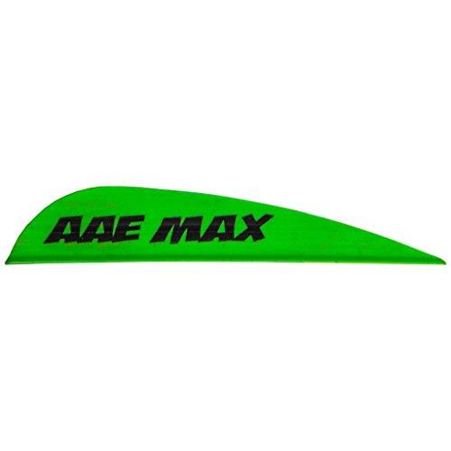 AAE Max Stealth Vane Flo Green 100 pk