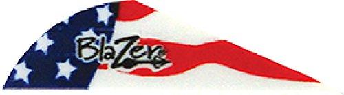 Bohning True Color 2 Blazer Vanes American Flag Blazer Vane 100pk
