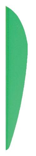 Bohning X-Vanes Pack of 36 Neon Green 3-Inch