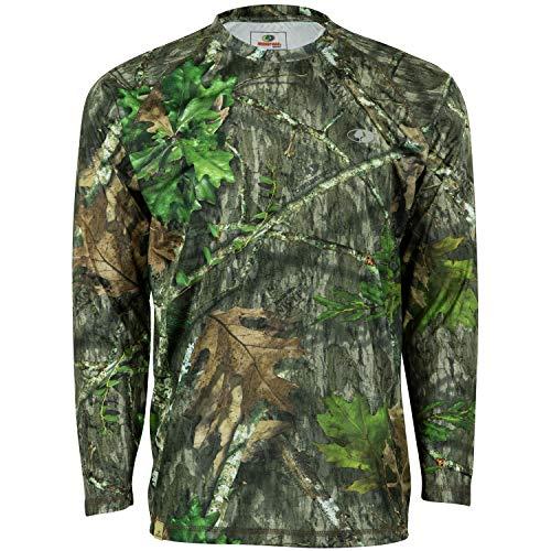 Mossy Oak Camo Performance Long Sleeve Tech Hunting Shirt