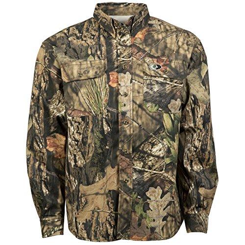 Mossy Oak Mens Cotton Mill Hunt Shirt