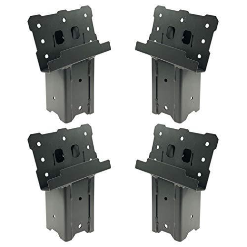 Highwild Platform Brackets Multi-Use 4x4 Compound Angle Brackets for Deer Stand Hunting Blinds Observation Decks Outdoor Platforms - Set of 4