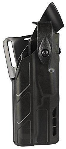 Safariland 7360 7TS ALSSLS Level-III Duty Glock 17 22 with ITI M3 Light Holster Plain Black Right