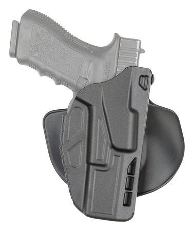 Safariland 7378 7TS ALS Concealment Holster Flex-Paddle Belt Loop Combo Glock 20 21 SafariSevenit Plain Black Right Hand