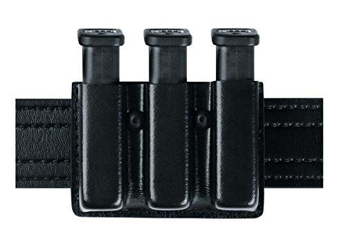 Safariland Duty Gear Glock 17 Open Top Slimline Triple Magazine Pouch Stx Black