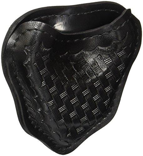 Safariland Duty Gear Open Top Basketweave Handcuff Case Black