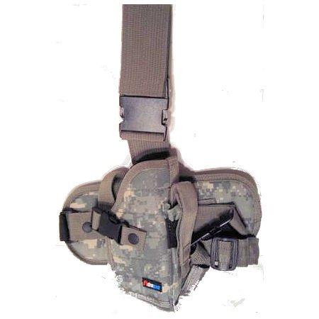 ACU Digital Camouflage Drop Leg Gun Holster Right Handed
