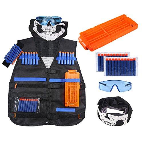 LeegoalTM Tactical Vest Kit Kids Elite Tactical Vest Kit For Nerf N-strike Elite Series Great Toys for Kids Blaster Play