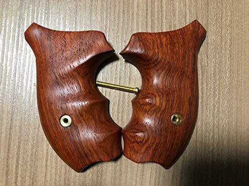 HOT SmithWesson J Frame Round Butt BODYGUARD M60 Revolver Grips - Smooth Hardwood 1