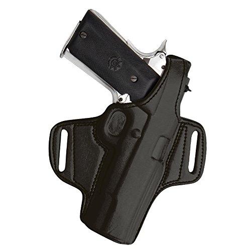 Tagua BH1-901 Thumb Break Belt Holster S&W L Frame 2-12 Black Left Hand