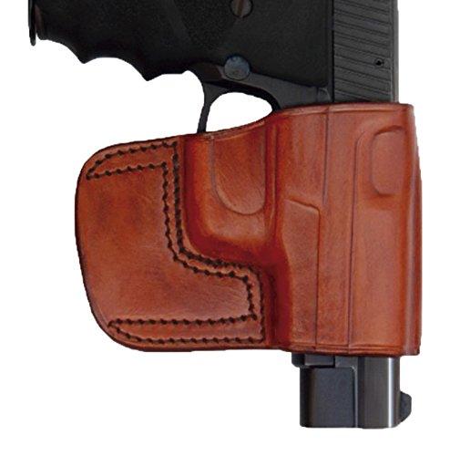 Tagua BSH-902 Belt Slide Holster S&W L Frame 2-12 Brown Right Hand