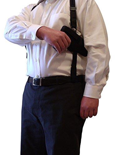 Tactical Shoulder Holster for Smith and Wesson S&W J-Frame models w concealed hammer 38 40 42 49 332 342 442 631 638 640 649 and 940 Ruger SR9c SR9 SR40c SR40 SR45 SR22