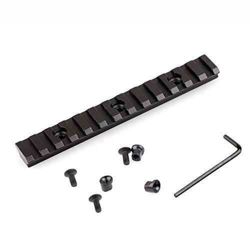 5 Aluminum 13 Slot Picatinny Weaver Rail Section for Keymod Handguard