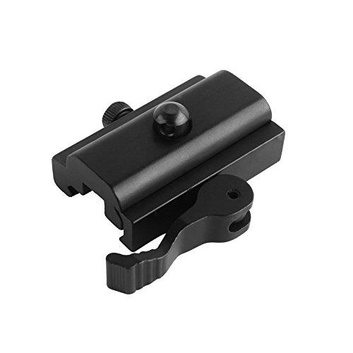 Beileshi Quick Detach Cam Lock QD Bipod Sling Adapter for Picatinny Weaver Rails