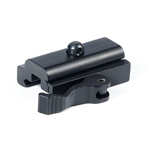 Green Blob Outdoors Quick Detach Release Mount Adapter 20mm QD Bipod Mount Black