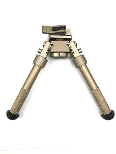 OTW Rifle Bipod 5 Settings 65 - 96 inch Built-in QD Mount Adapter Bi-pod for Gun Rifle AR 15