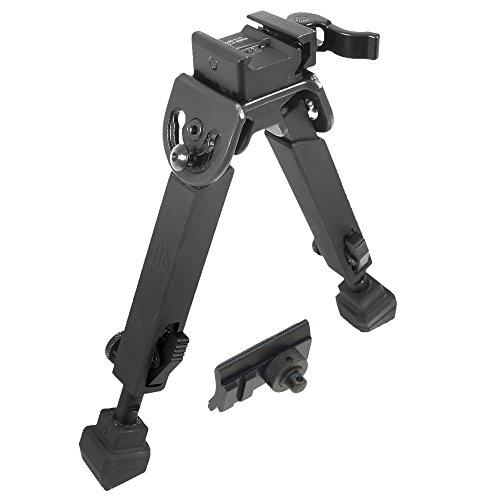 UTG Rubber Armored Full Metal QD Bipod Height 60- 85