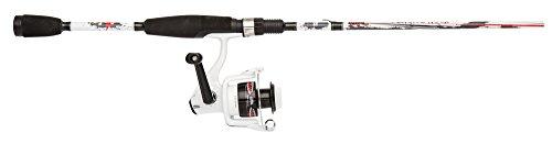 Abu Garcia Ike Dude Fishing Rod and Spinning Reel Combo 6 Feet Medium Power Two-Piece