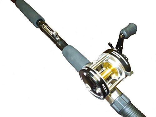 Sabiki 8 foot bait fishing rod bait caster fishing reel combo