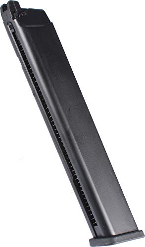 Evike WE 50rd Extended Magazine for Glock G17 G19 G18C G34 ISSC M22 SAI and Compatible Series Airsoft GBB Pistols