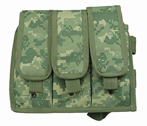 Ultimate Arms Gear ACU Digital Camouflage Triple Drop Leg Magazine Pouch For Beretta CX4 Rifle