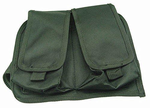 Ultimate Arms Gear Stealth Black Double Drop Leg Magazine Pouch For AR15 AR-15 M4 M16 223 556