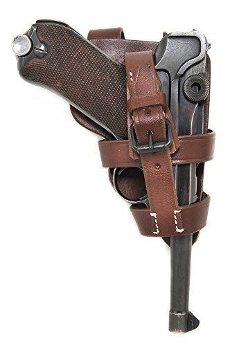 Paratrooper German P08 Luger Brown Leather Holster Fallschirmjager Holster HOLSTER ONLY
