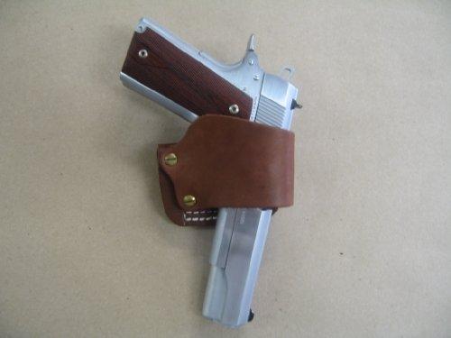 Colt 1911 Springfield Kimber Taurus 1911 Leather Belt Slide Holster Tan USA