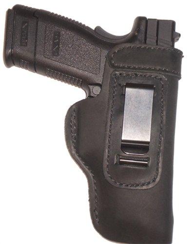 Remington 1911 Leather Gun Holster LT RH IWB Black