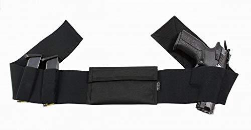 FALCO Elastic Belly Band Gun Holster Black - 508