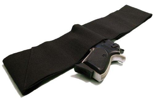 Four Way Belly Band Gun Holster - Size Medium 33 - 38