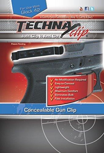 Techna Clip Gun Belt Clip – Glock 42